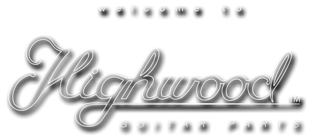 Welcome to Highwood Guitar Parts | Contoured saddles for your Stratocaster bridge. No more tiny screws that hurt your hand while playing!